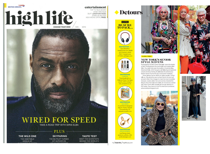 British Airways Highlife Magazine - May 2015