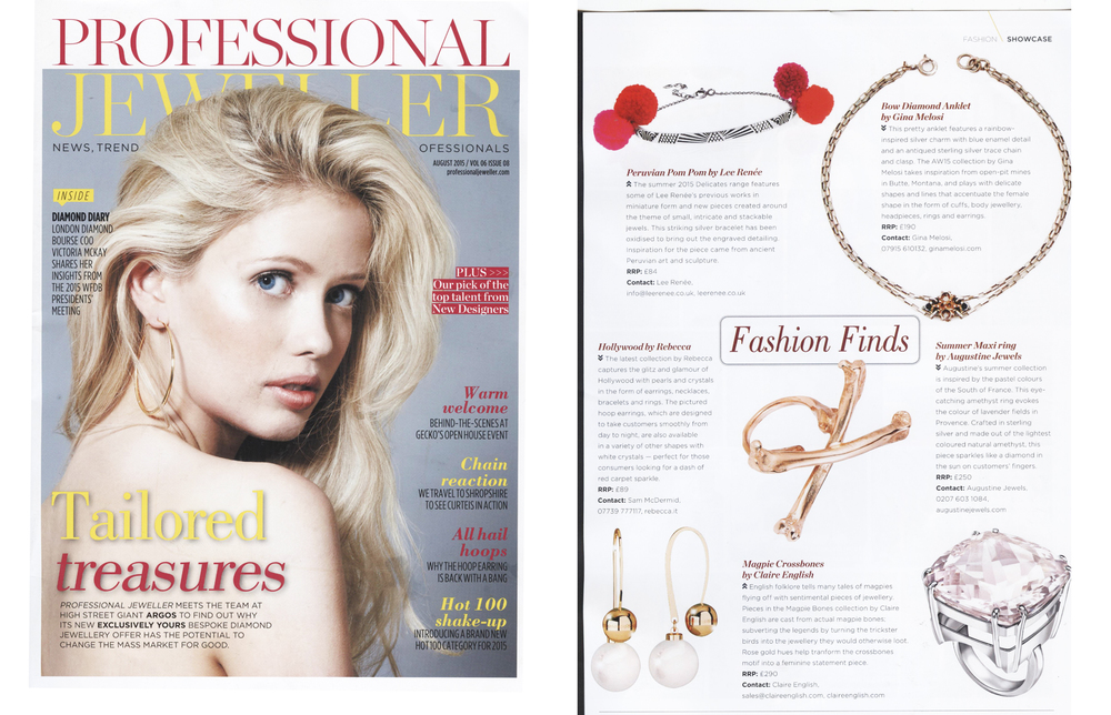 Professional Jeweller Magazine - August 2015