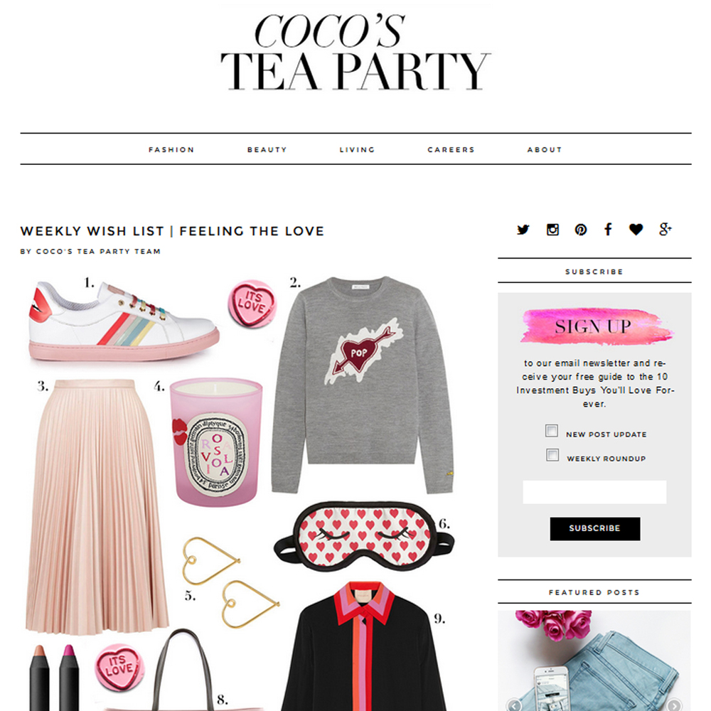 Coco's Tea Party - February 2016