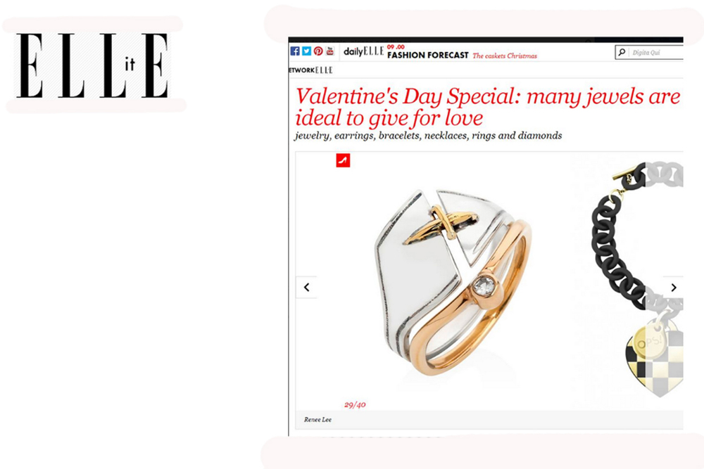 Elle Italy.com - February 2014