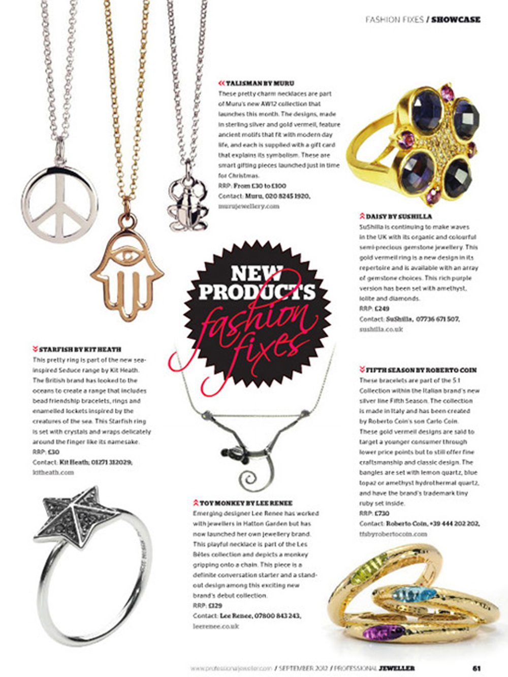 Professional Jeweller Magazine - September 2012