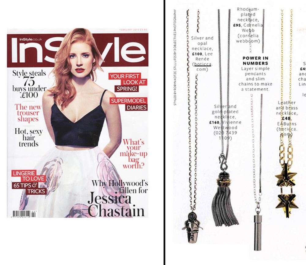 InStyle Magazine - February 2013