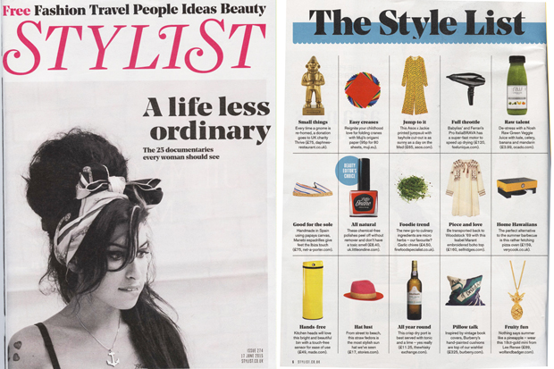 Stylist Magazine June 15