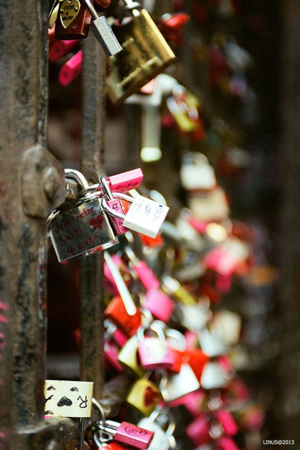 Love Locks in Verona