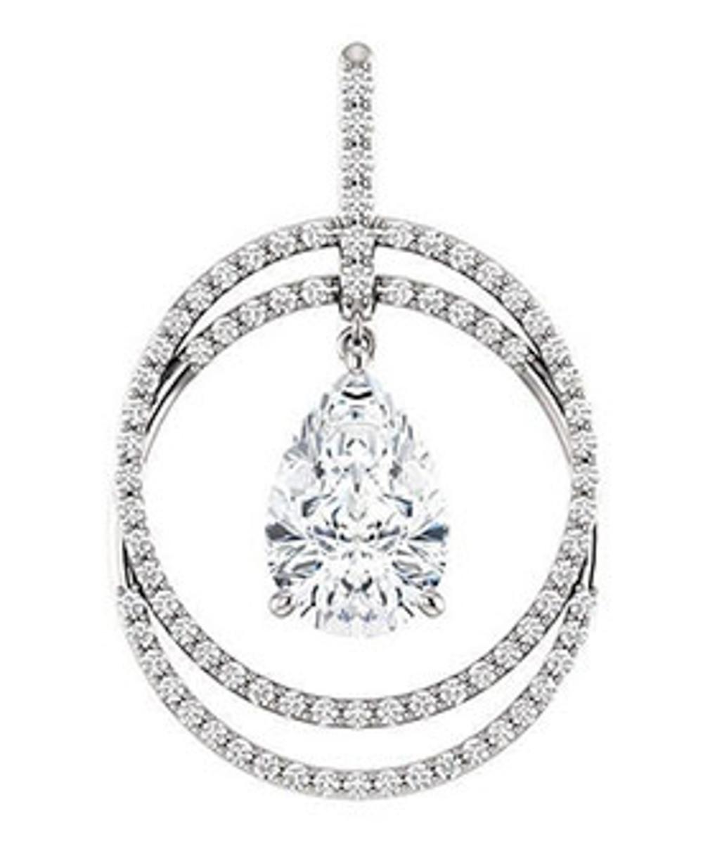 Bespoke Diamond Pendant