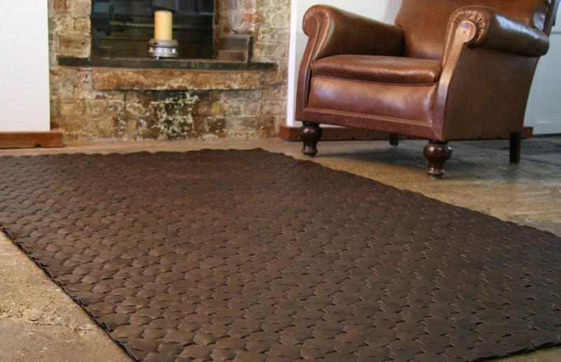 Elvis & Kresse Leather Rug Sustainable Products