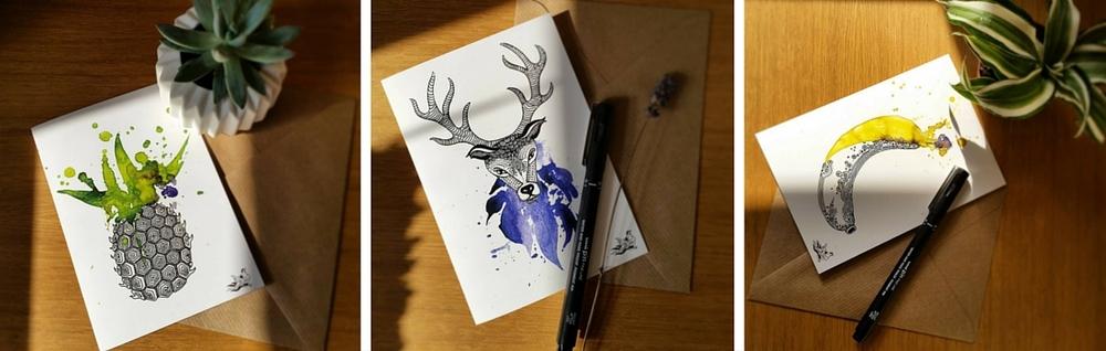 Lee Renee Jewellery Maria Cards Open Studio