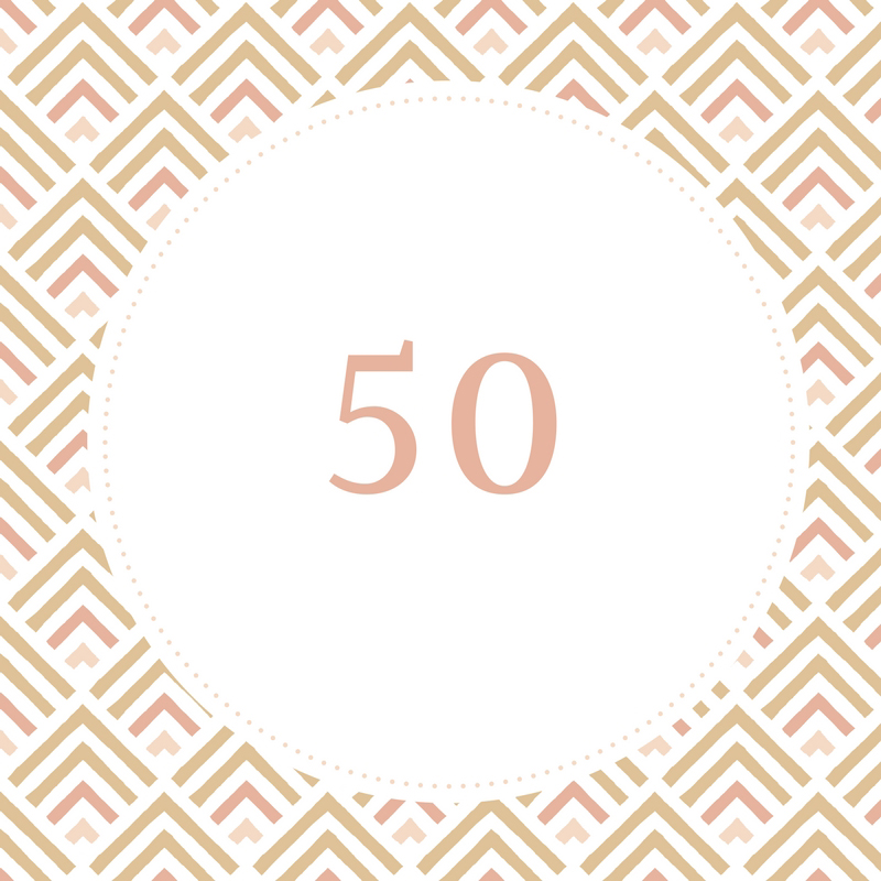 50th birthday gift ideas for her