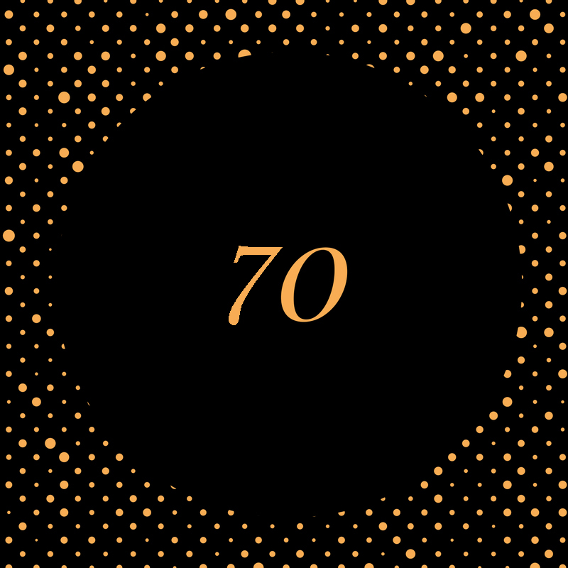 70th birthday gift ideas for her