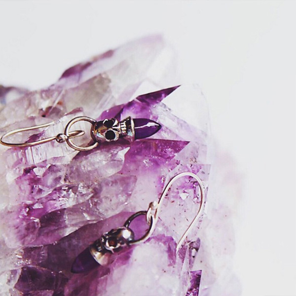 amethyst birthstone gift ideas for her amethyst earrings