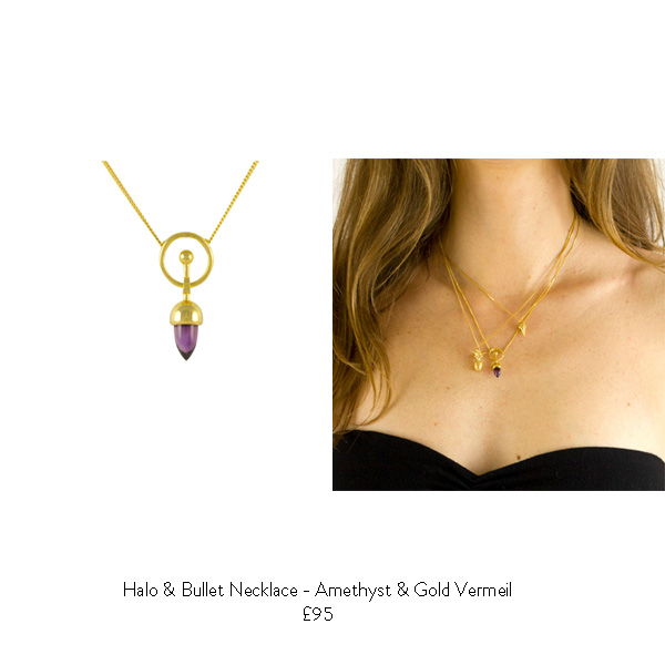 amethyst birthstone gift ideas for her amethyst gold necklace