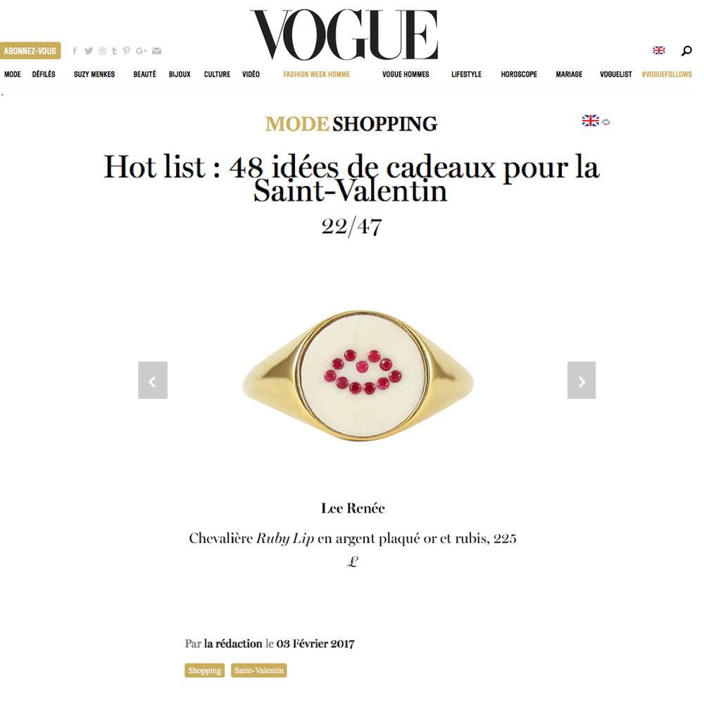 Vogue France - Feb 17