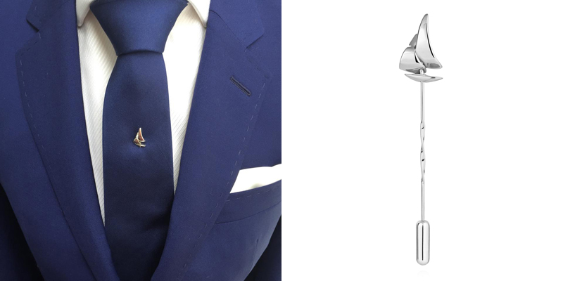 nautical tie pin