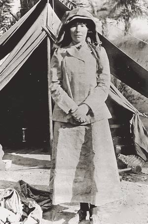 Gertrude Bell - One of our dearest Victorian lady travellers. Image: Wikipedia