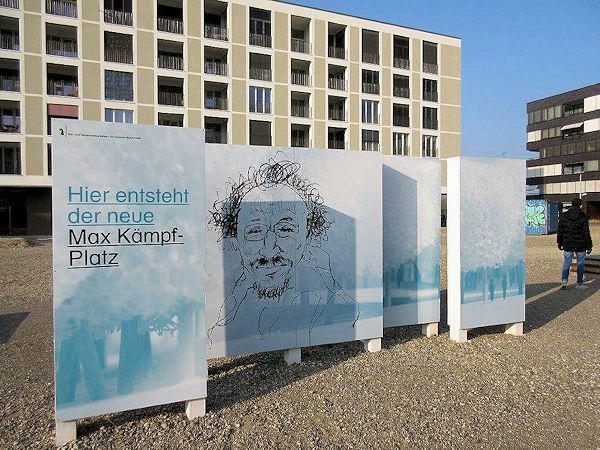 Max Kämpf-Platz, Erlenmatt, Basel