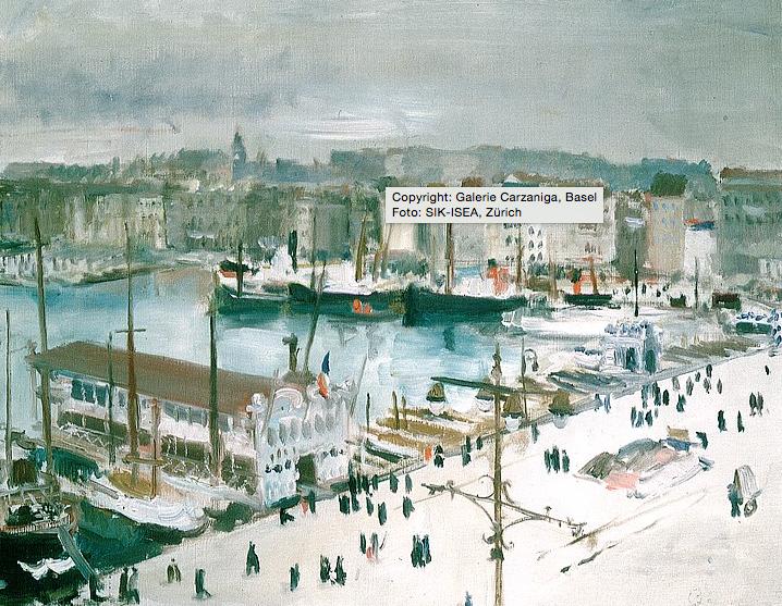Der Hafen von Marseille,Copyright: Galerie Carzaniga, Basel