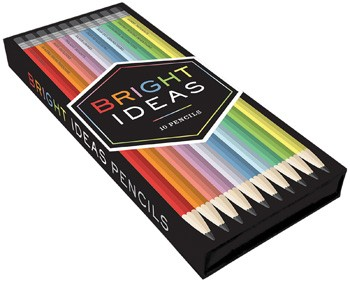 Bright Ideas Graphite Pencils  by  Chronicle Books . ($12.95 value)