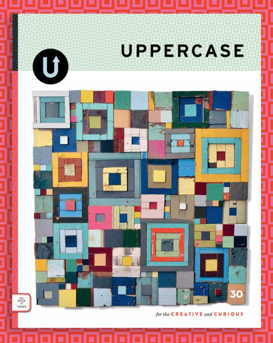 A one year subscription  to  UPPERCASE  magazine. ($62 value)