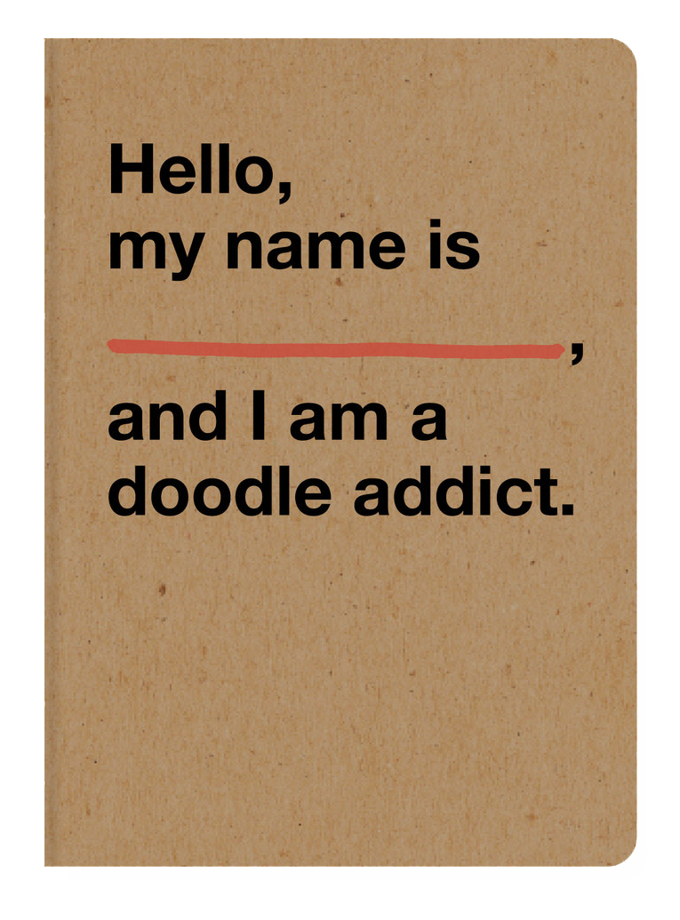 The  Doodle Addict  sketchbook  from  Doodlers Anonymous  ($5.95 value)