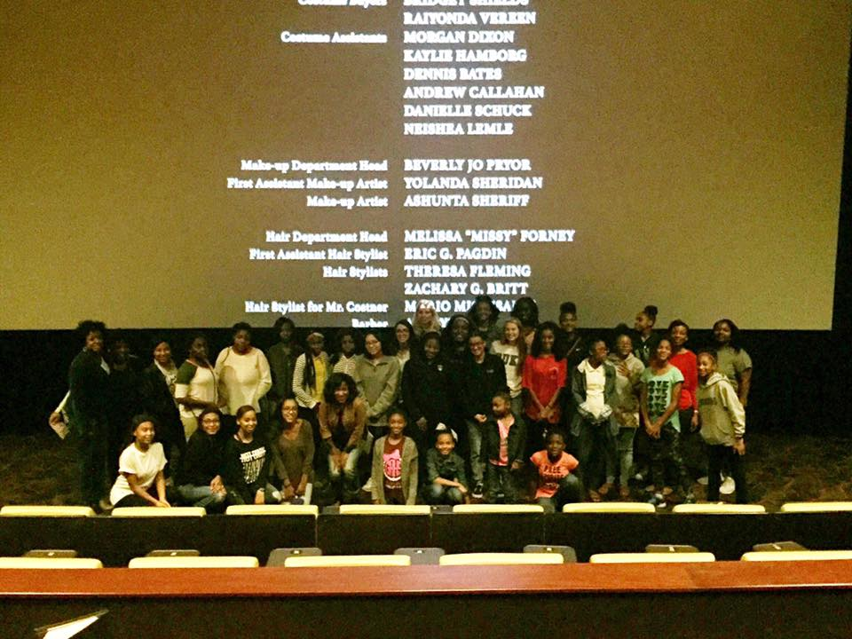"Such a special night. About 50 girls saw ""Hidden Figures"" at  iPic Houston  for free for my  #yearofjoy  project. Thank you to iPic management  Kali Sellars , the parents, chaperones and especially the girls from HISD, Aldine ISD, Wheeler Avenue Baptist Church, the Kinder Shelter, Clear Lake HS, Sugar Land and my alma mater St. Agnes Academy. Also special thanks to  Noreen Khan-Mayberry  who spoke to the girls about her own amazing NASA career.  It's so easy to get caught up in the chaos of the world and forget that a simple trip to the movies may be the thing that inspires one girl to live her dream.  I hope so."