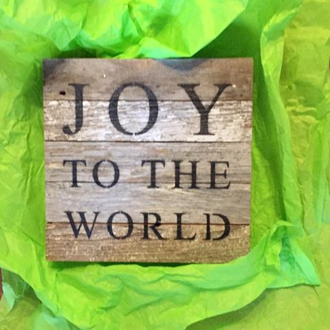 My girlfriend  Kathy Times  of 20 years mailed this plaque to me yesterday. It made me smile. She knows I'm on a mission.  #yearofjoy