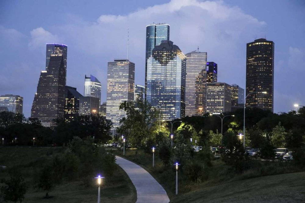 I'm a Houston fan and all about joy, but this was hard for me to believe that Houston made the list of the top 10 joyous places on Earth. We're on the list with the Big Island, Bermuda and Bordeaux, France. Crazy, huh? But I'm here, so maybe they are right.