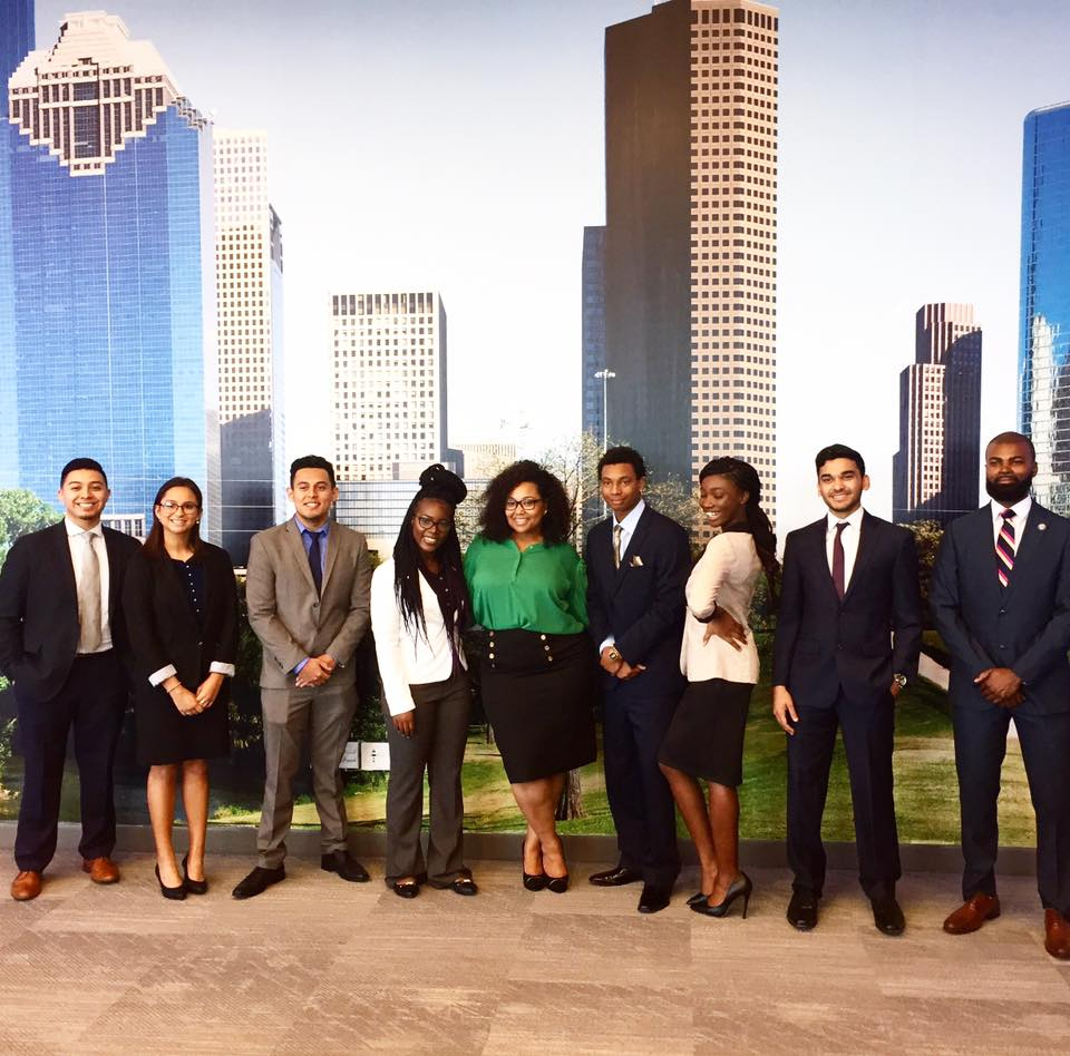 Earlier this week, I gave a keynote address for  University of Houston-Downtown  students on office dress and the importance of having a professional image. They showed up ready!