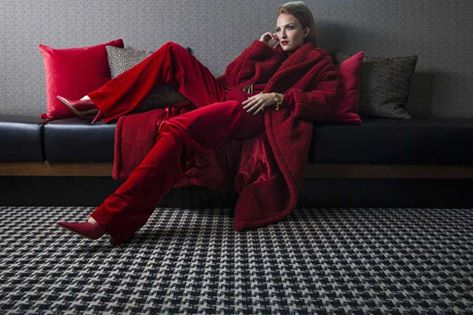 There's no more powerful color in the world of fashion than red. And right now, red is hot for fall.  More