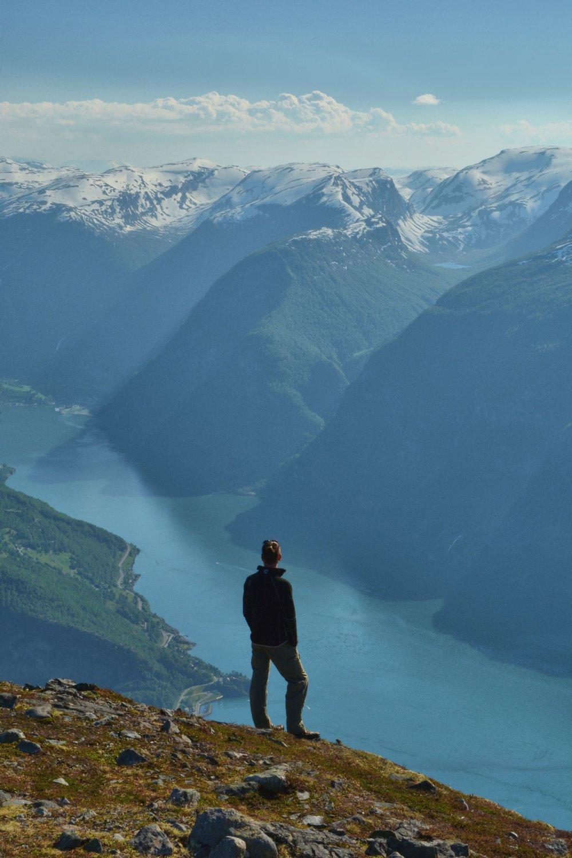 View Aurland fjord Prest Aurlandsfjord