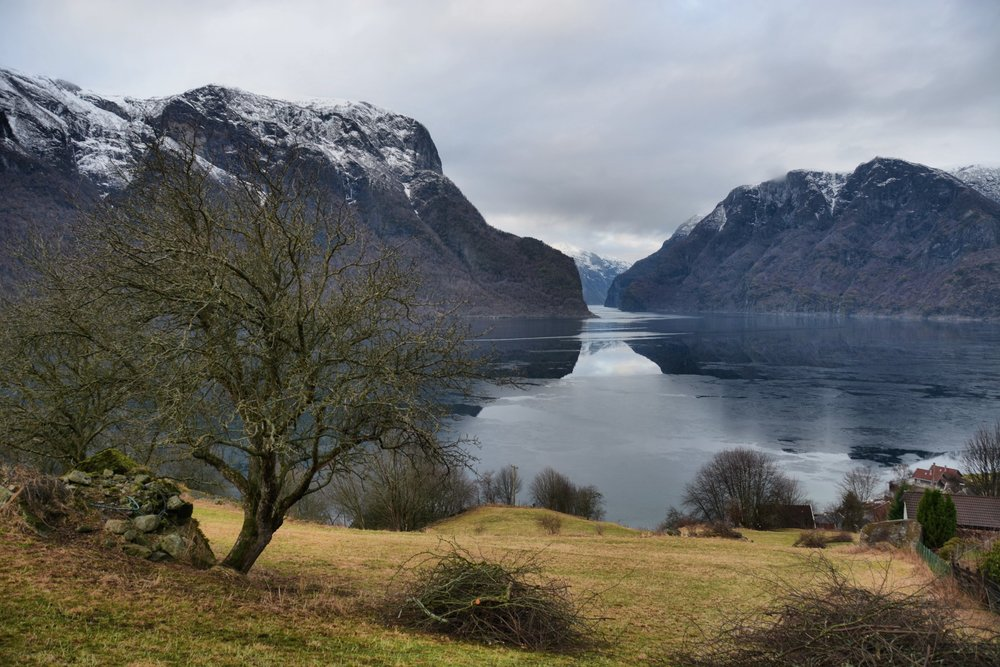Winter in Aurland