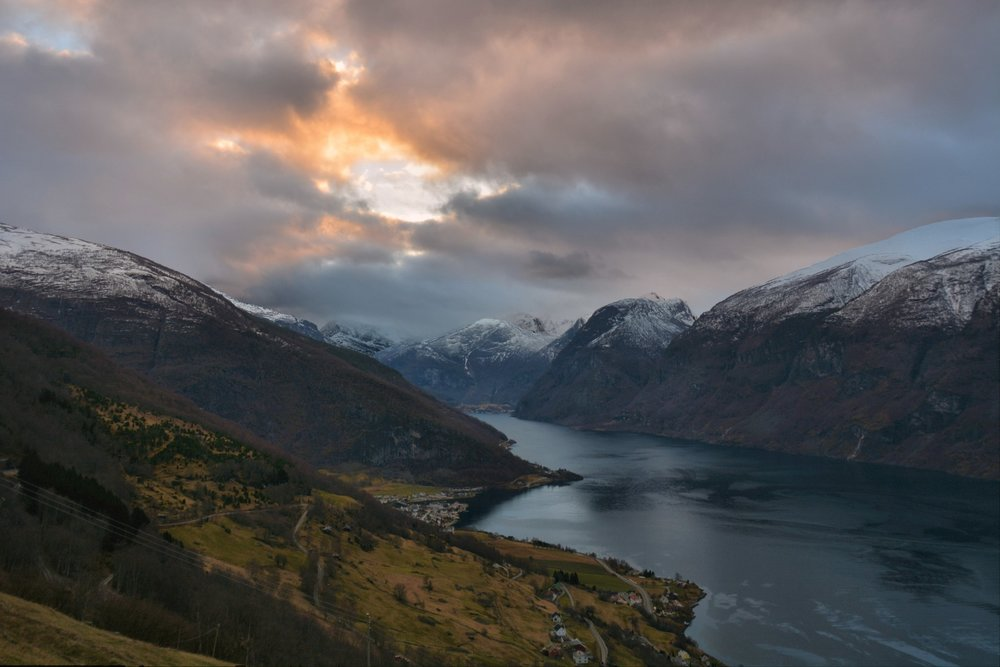 Aurland and Flåm