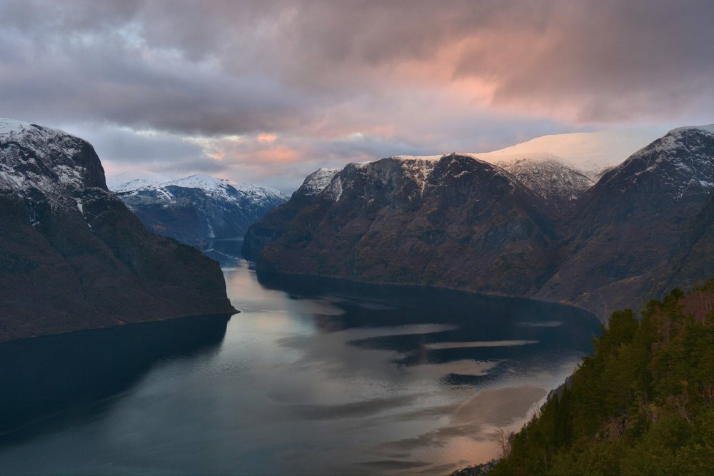Majestic Aurlandsfjord