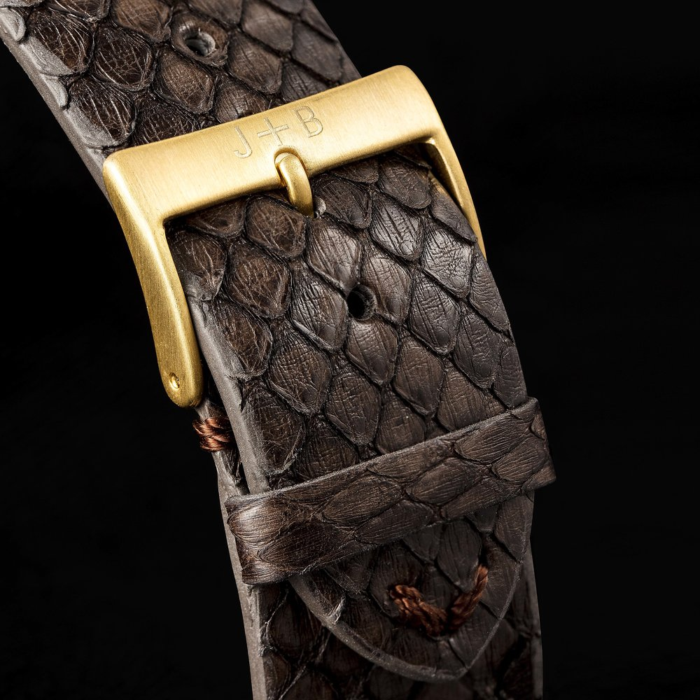 WINTER 18 / COLLECTION E.D : THE EXOTIC - WINTER 2018 JACK + BELL LAUNCHED COLLECTION E.D.A COLLABORATION WITH EUSTACHE DAUGER, A CELEBRATED WATCH BAND CURATOR WHO HAS PREVIOUSLY WORKED WORKED HERMES AND THE GUCCI GROUP.THE RESULT IS A LIMITED EDITION RELEASE THAT HAS BEEN CAREFULLY CURATED FROM PREMIUM MANUFACTURERS ALL OVER THE WORLD.MOVE FORWARD WHILST THEY'RE STILL IN STOCK.