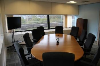 Mr Benn room  10 Person space, TV screen,  whiteboard, wifi, tea&coffee.    £35 an hour, £175 a day