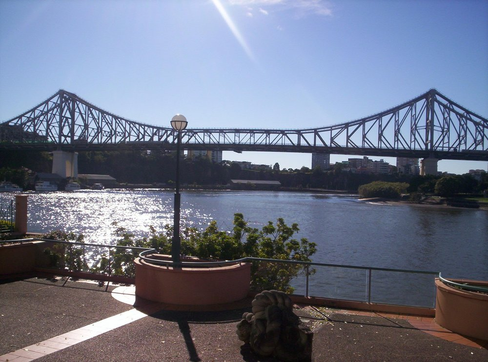 Kangaroo Point bridge, Brisbane