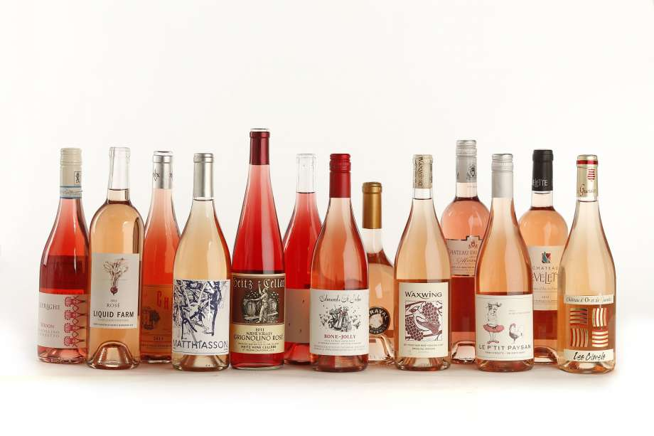 Rosés for days - Photo Credit:  Craig Lee