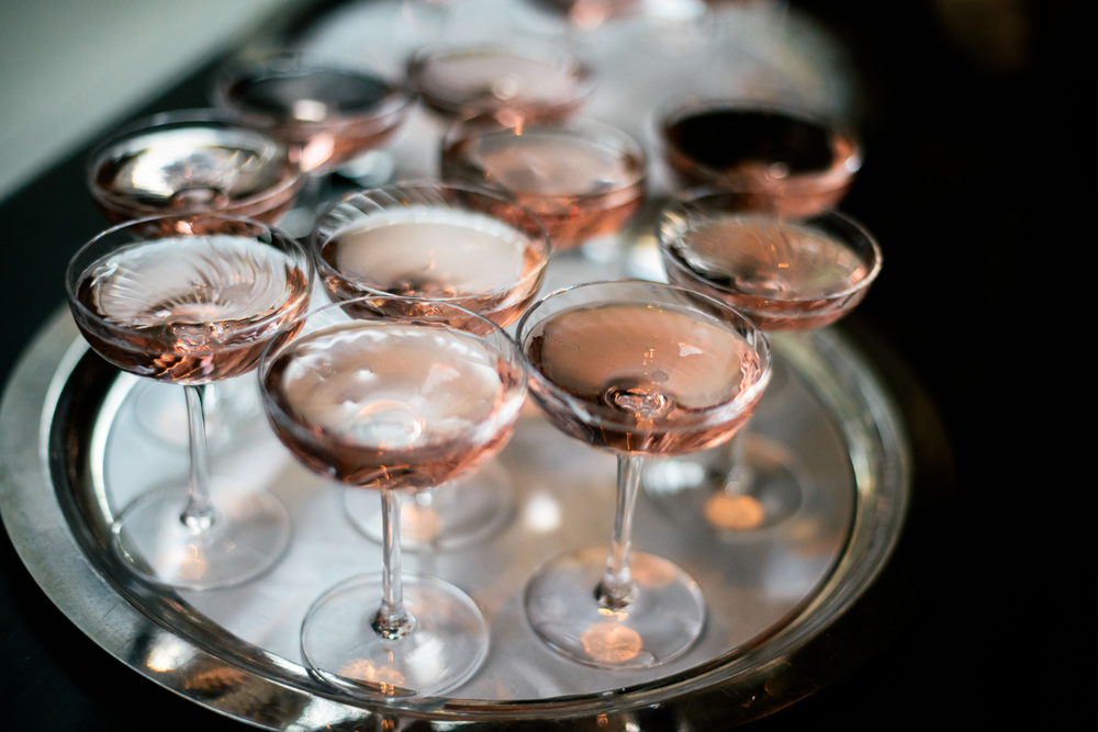 Tray o' rosé - Photo Credit -  La Nuit En Rosé