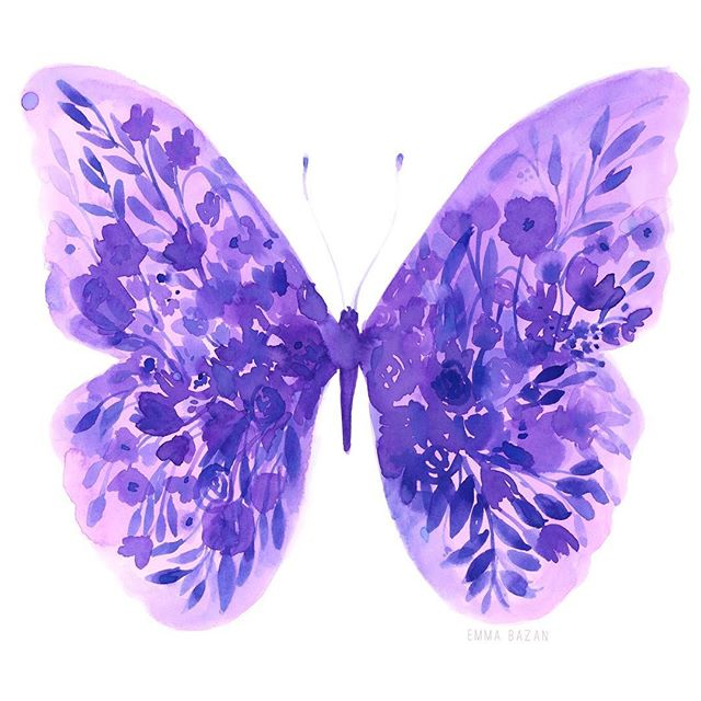 ✨ I just want pretty things and a pair of wings ✨ . . . . . #art  #artistsoninstagram #artist #artwork #art🎨 #butterfly #butterfly_n_flower #butterflyart #butterflylover #floral #flowers #watercolor #loosewatercolor #watercolorpainting #watercolor_art #watercolorflowers #watercolorpaint #purple #purplecolor #purplecolors #purpleart #colorpaletteoftheday #nature #natureinspired #whimsical #whimsy #quoteoftheday #pinterestquotes