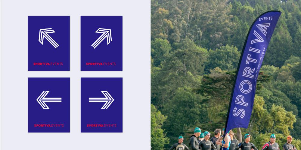 Sportiva signage
