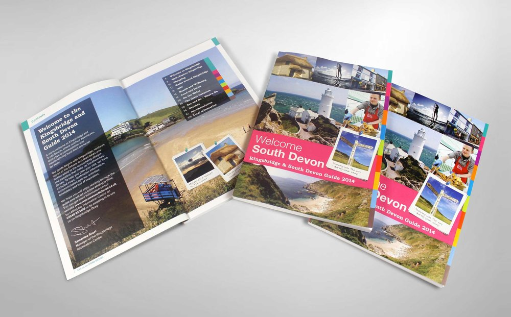 Brochures, town guides and marketing