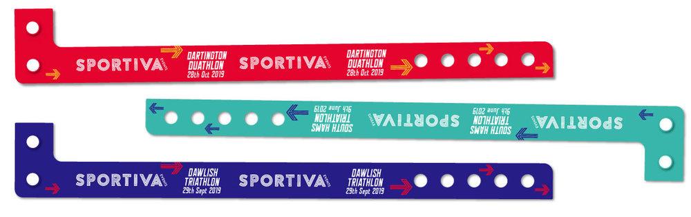 Sportiva wrist bands