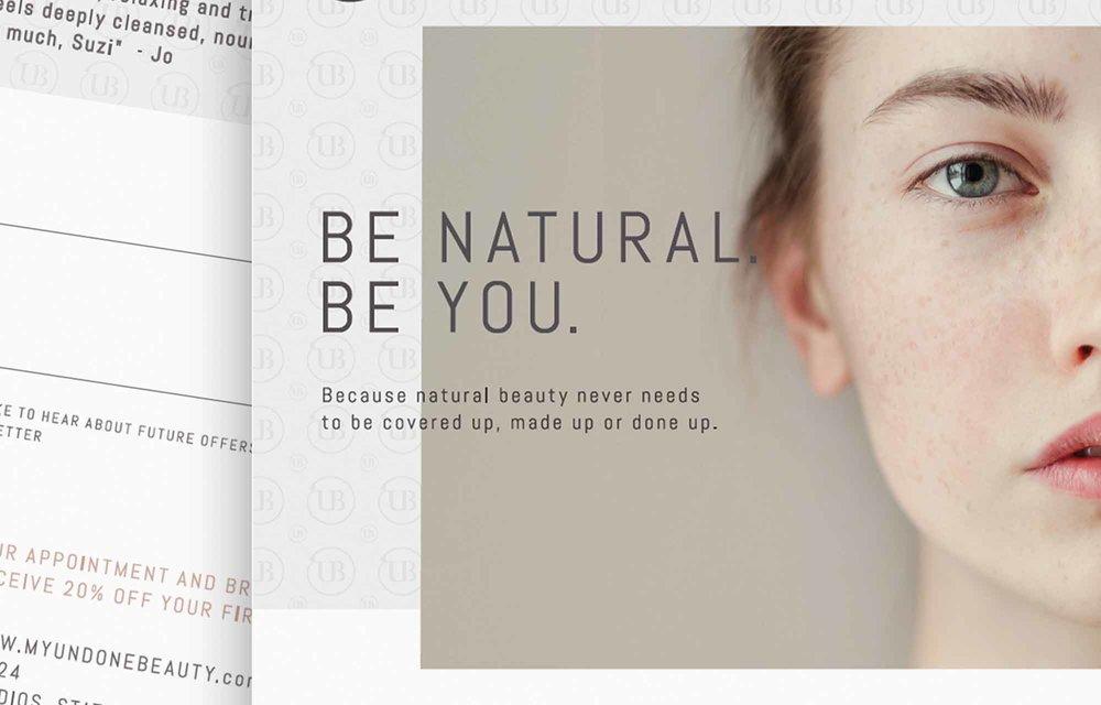 undone beauty leaflets