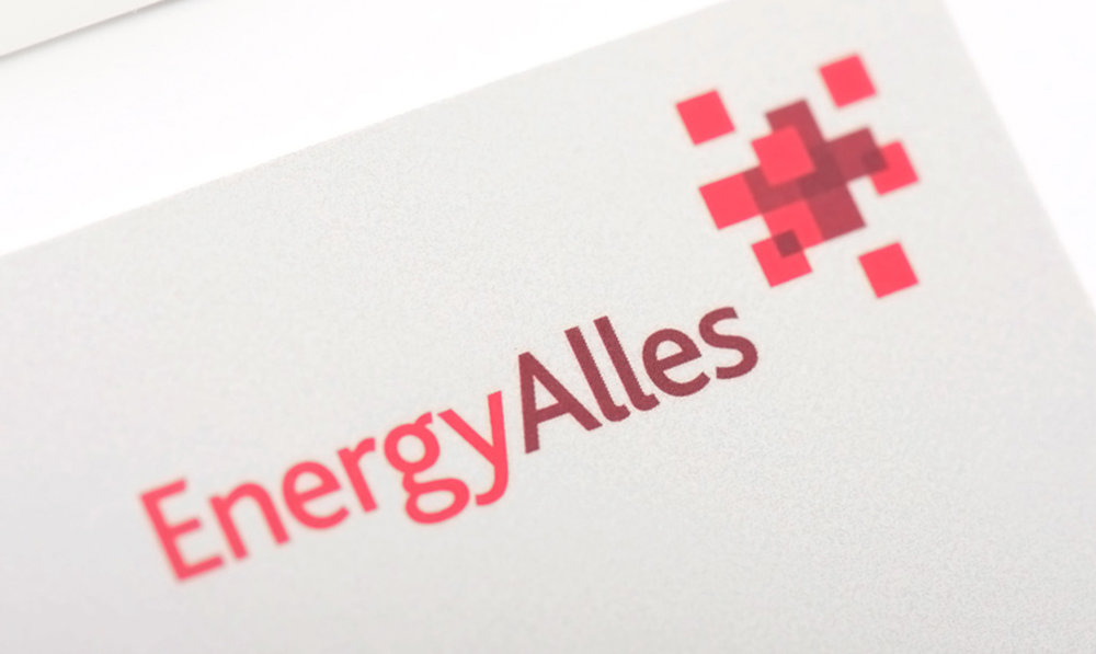 <strong>energy company branding</strong><p>Logo design / Brochure / Signage</p>