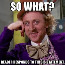 Critical Essay Thesis Statement This Is Great And It Reigns In The Scope Of The Essay Obviously Now  Youre Not Going To Talk About Climate Change In General But Only The  Instance In  A Level English Essay Structure also Informative Synthesis Essay Wheres Your Thesis Statement  Grammar Bomb Science Vs Religion Essay