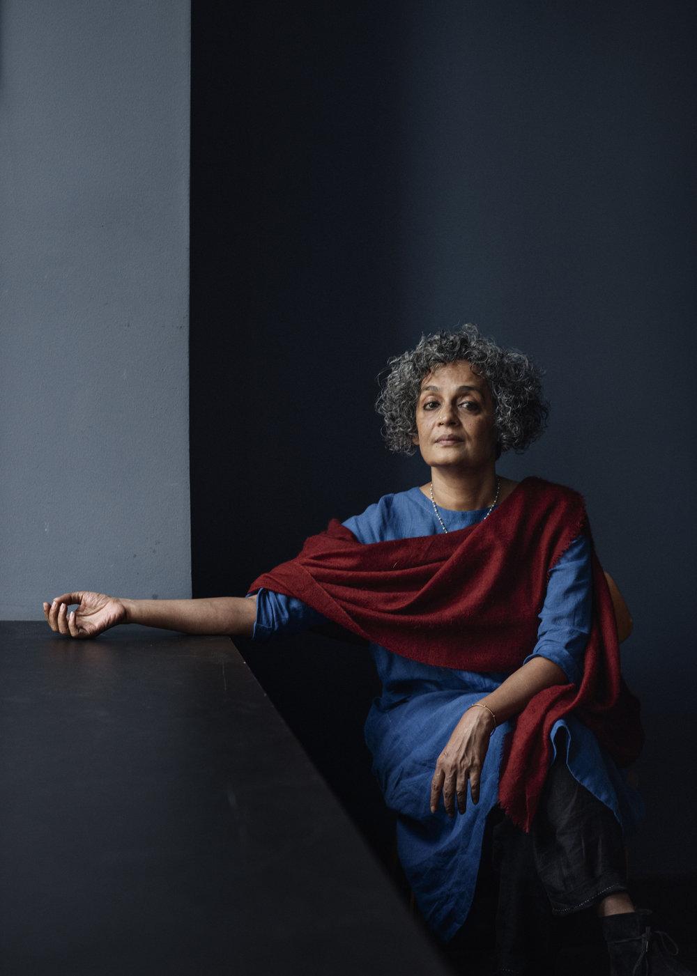 Author Arundhati Roy, Morgenbladet 2017.