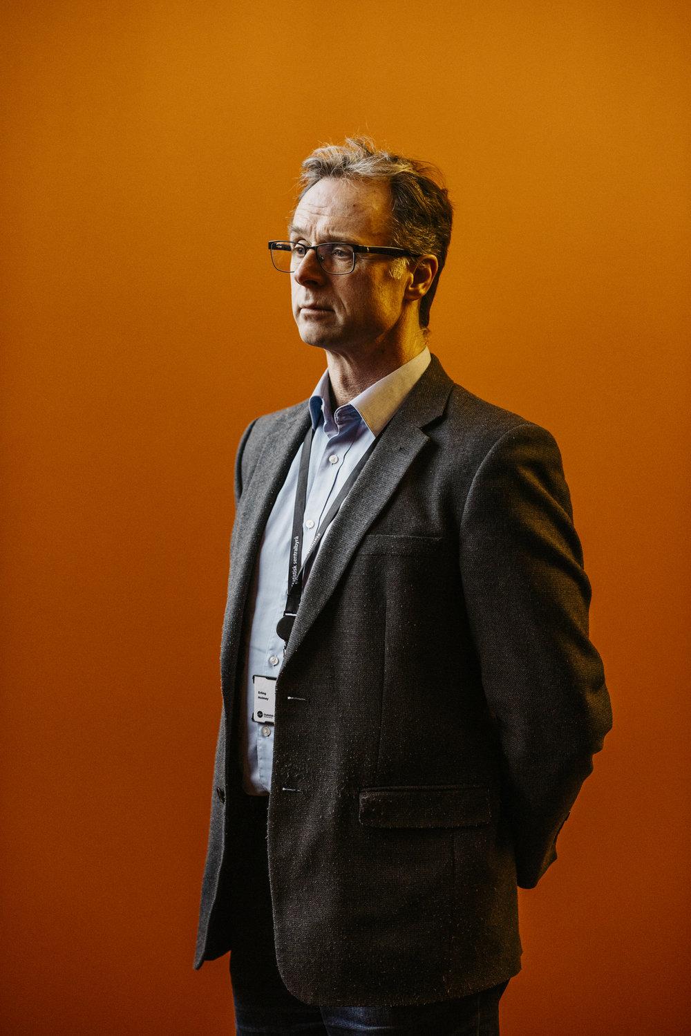 Erling Holmøy, Norwegian scientist, Morgenbladet 2017.