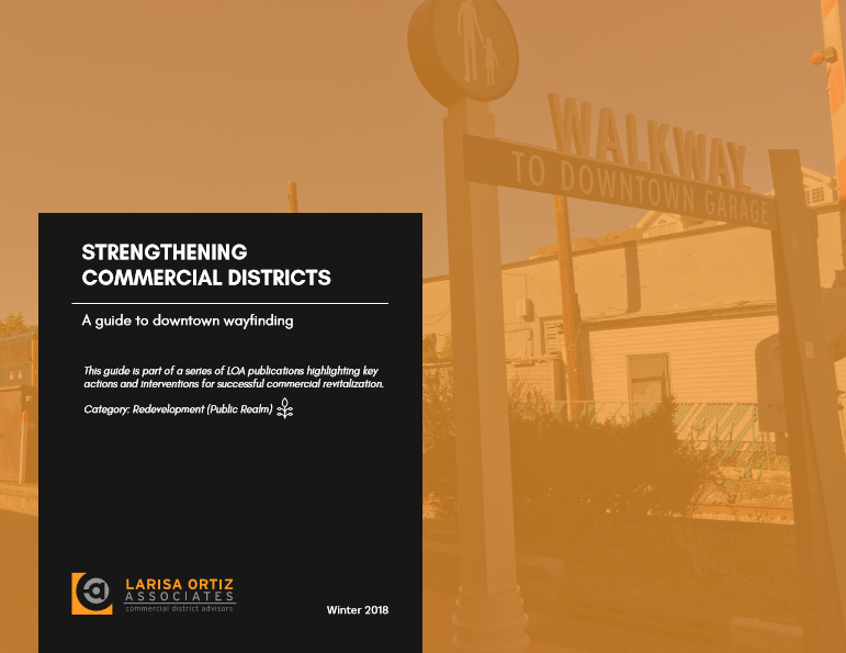 A Guide to Downtown Wayfinding (Authored)