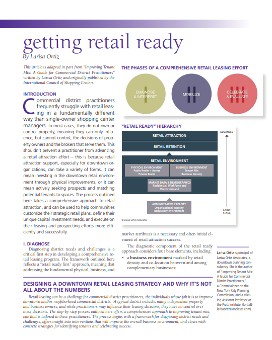 Getting Retail Ready (Authored)