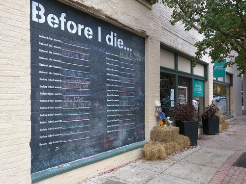 Before I Die- Candy Chang