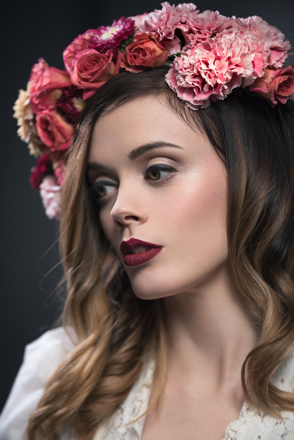 Photo:  Chris Langford  | Hair+Makeup: Rachel Lane | Model:  L  auren Bartlett  | Florals:  Taffy Floral  | Dress:  Gypsy De La Lune
